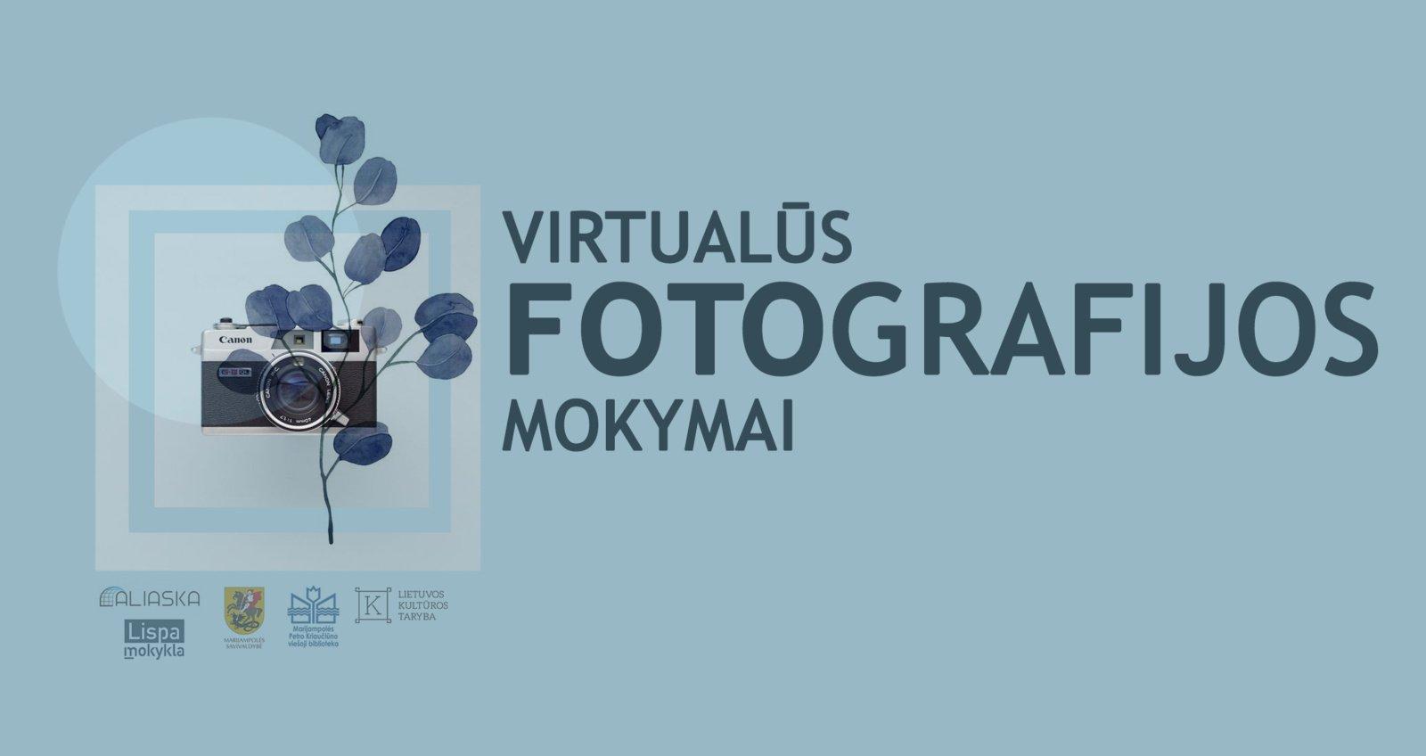 Virtualūs fotografijos mokymai jaunimui