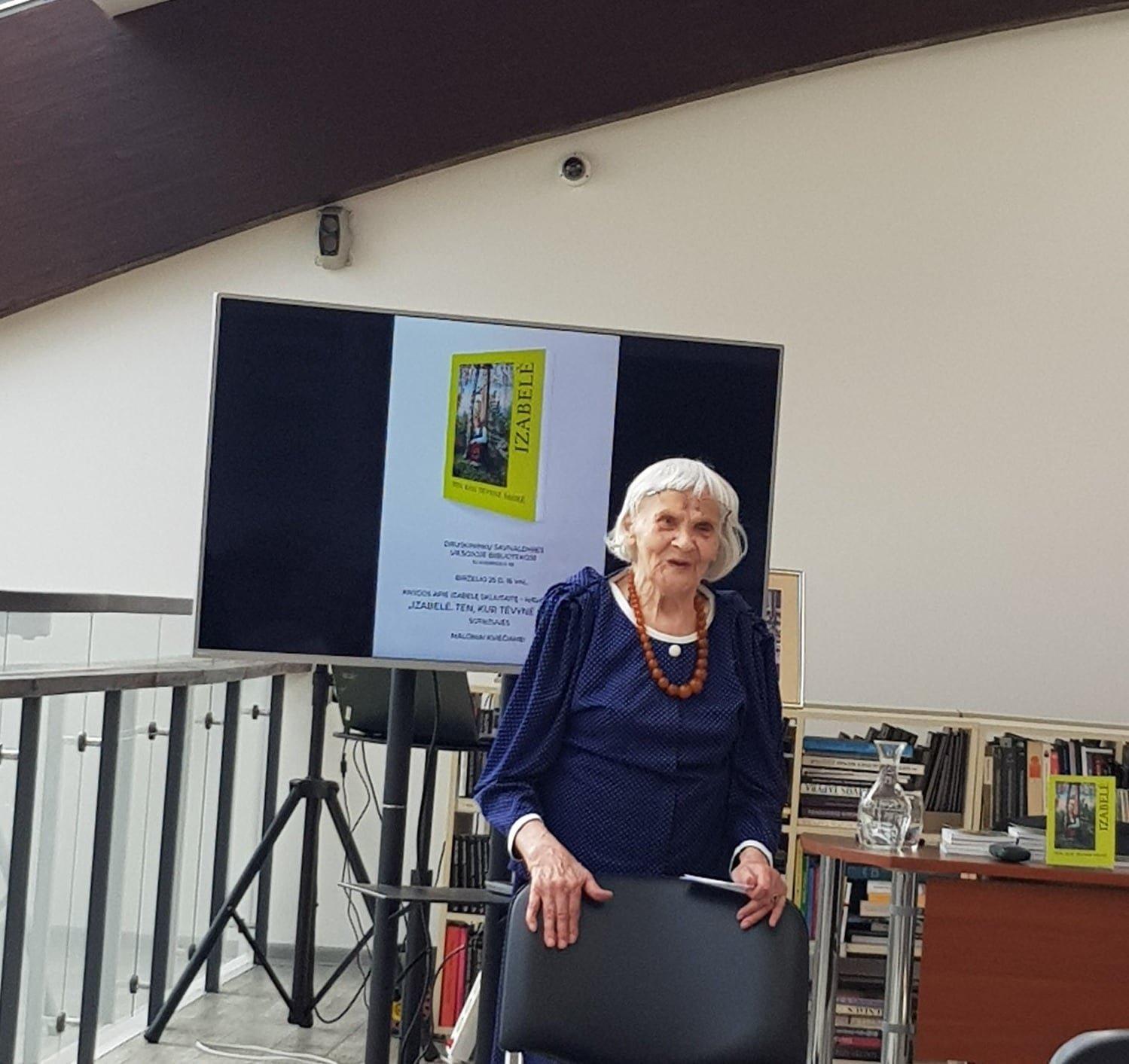 Mirė partizanų ryšininkė, politinė kalinė, rašytoja I. Skliutaitė-Navarackienė