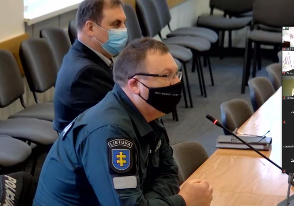 Pristatyta Vilkaviškio policijos komisariato 2020 metų veiklos ataskaita
