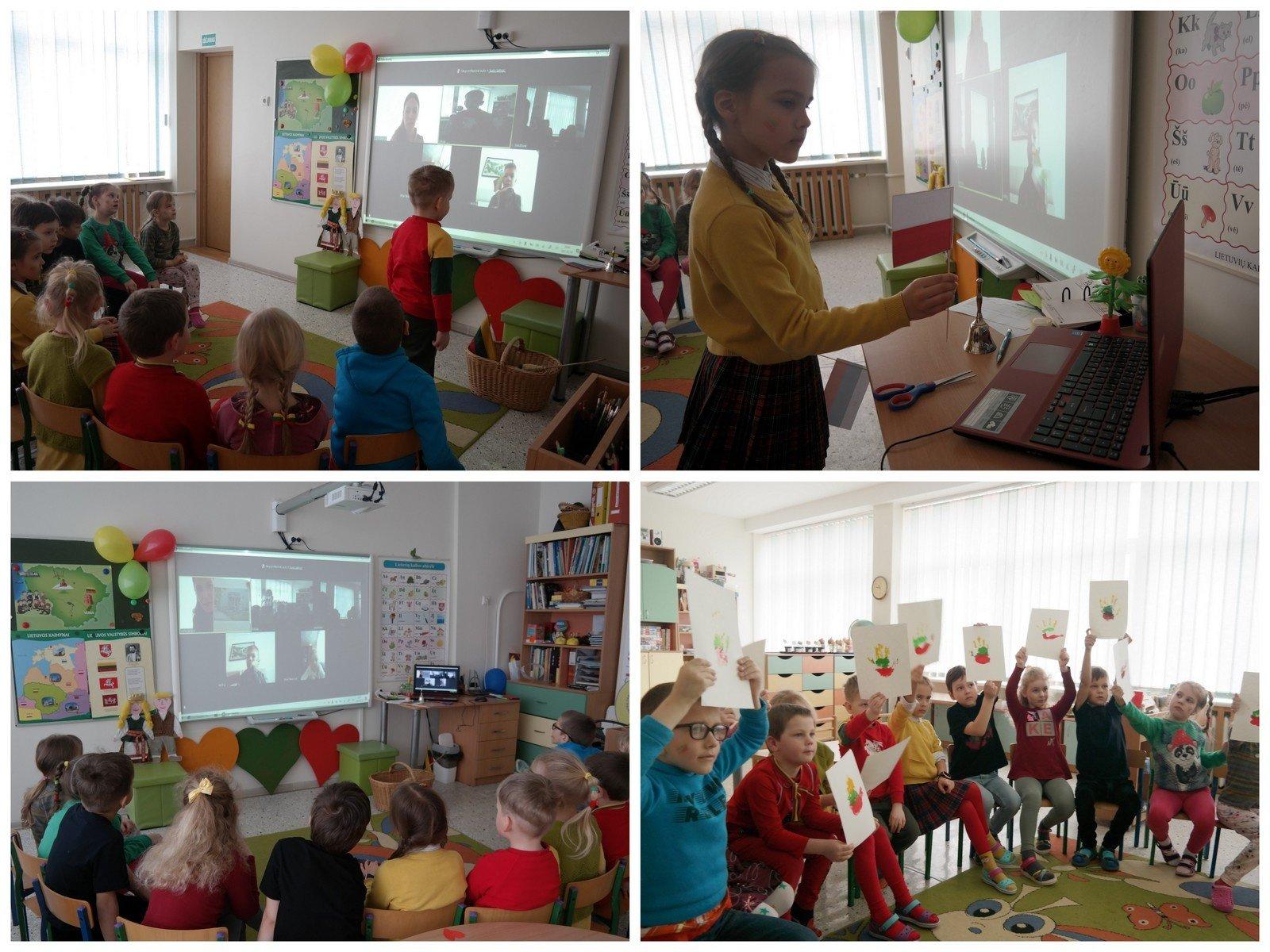 """Interaktyvus priešmokyklinukų  rytmetys """"Kaip pažinti Lietuvą"""""""