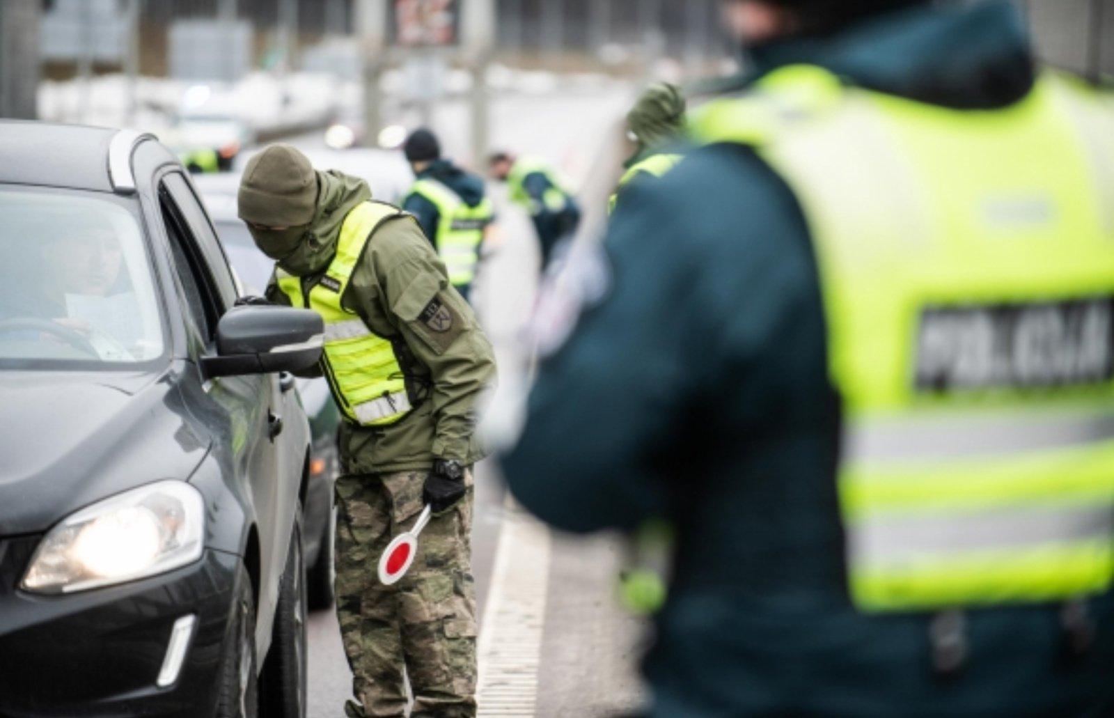 Velykų savaitgalį – sustiprintos policijos pajėgos