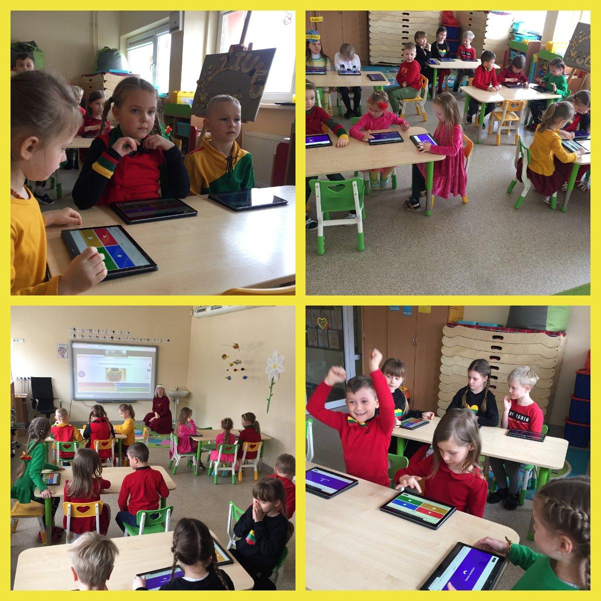 """Priešmokyklinukai dalyvavo interaktyviame rytmetyje """"Kaip pažinti Lietuvą"""""""