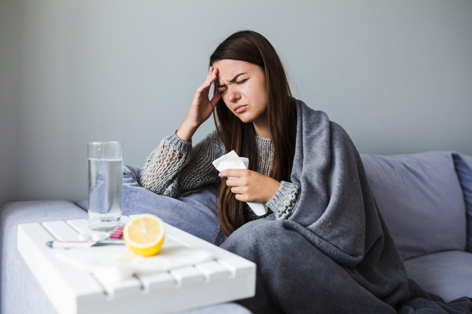 Galvos skausmo priežastis – ir maistas