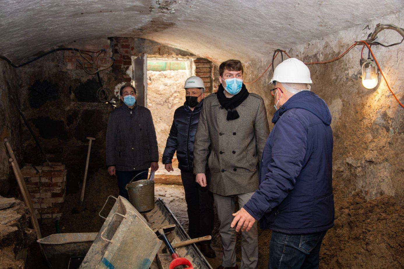 Gyventojams atsivers Marijampolės krašto ir Prezidento Kazio Griniaus muziejaus rūsys