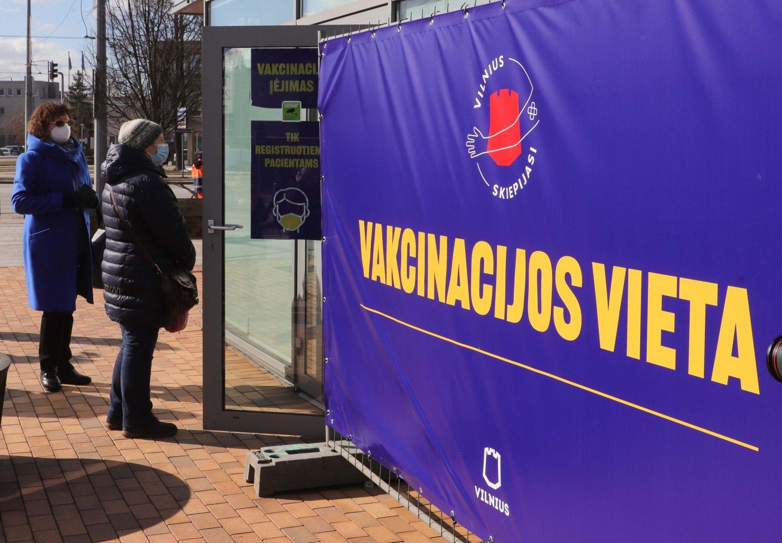 Vyriausybės kanclerė: masinę vakcinaciją tikimės pradėti iki birželio 1-osios