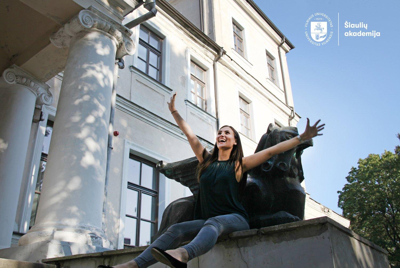 Vilniaus universitetas kviečia į virtualią studijų mugę Šiauliuose!