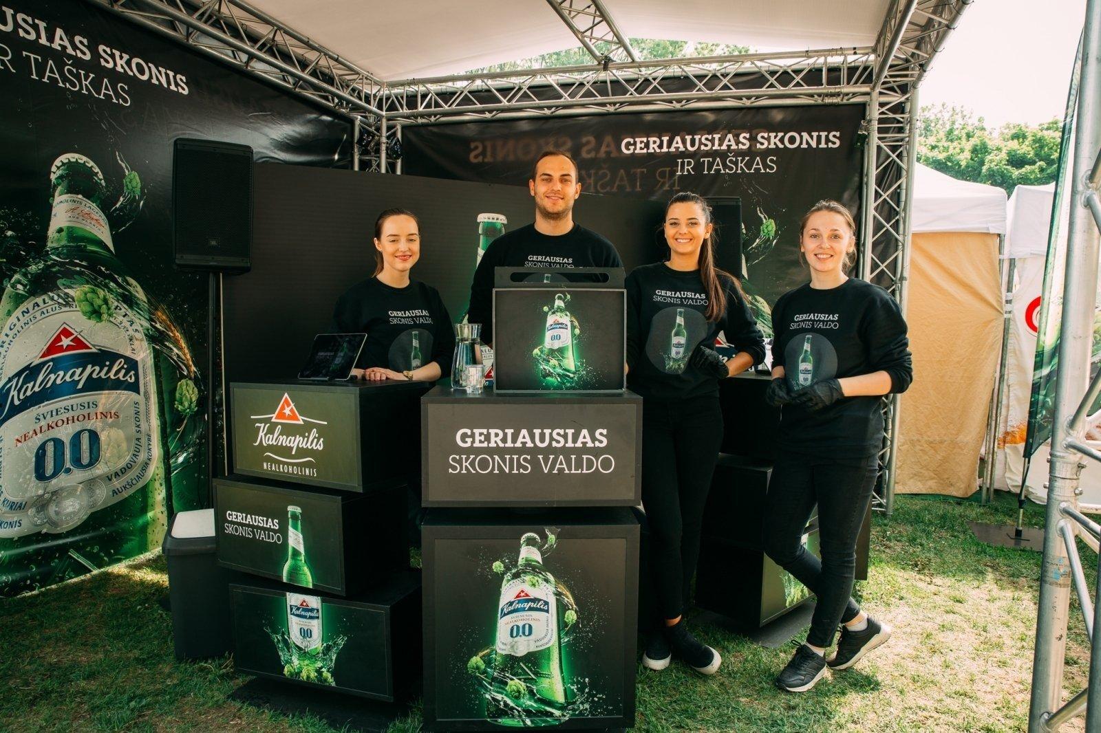 Kalnapilis Nealkoholinis – Nr.1 šviesiojo nealkoholinio alaus pasirinkimas Lietuvoje
