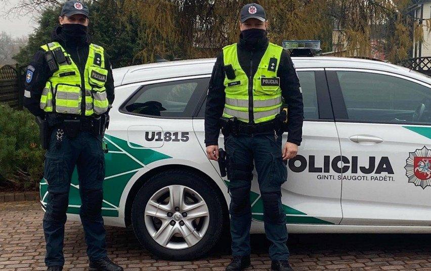 Policija praneša, kokius reidus rengs balandį