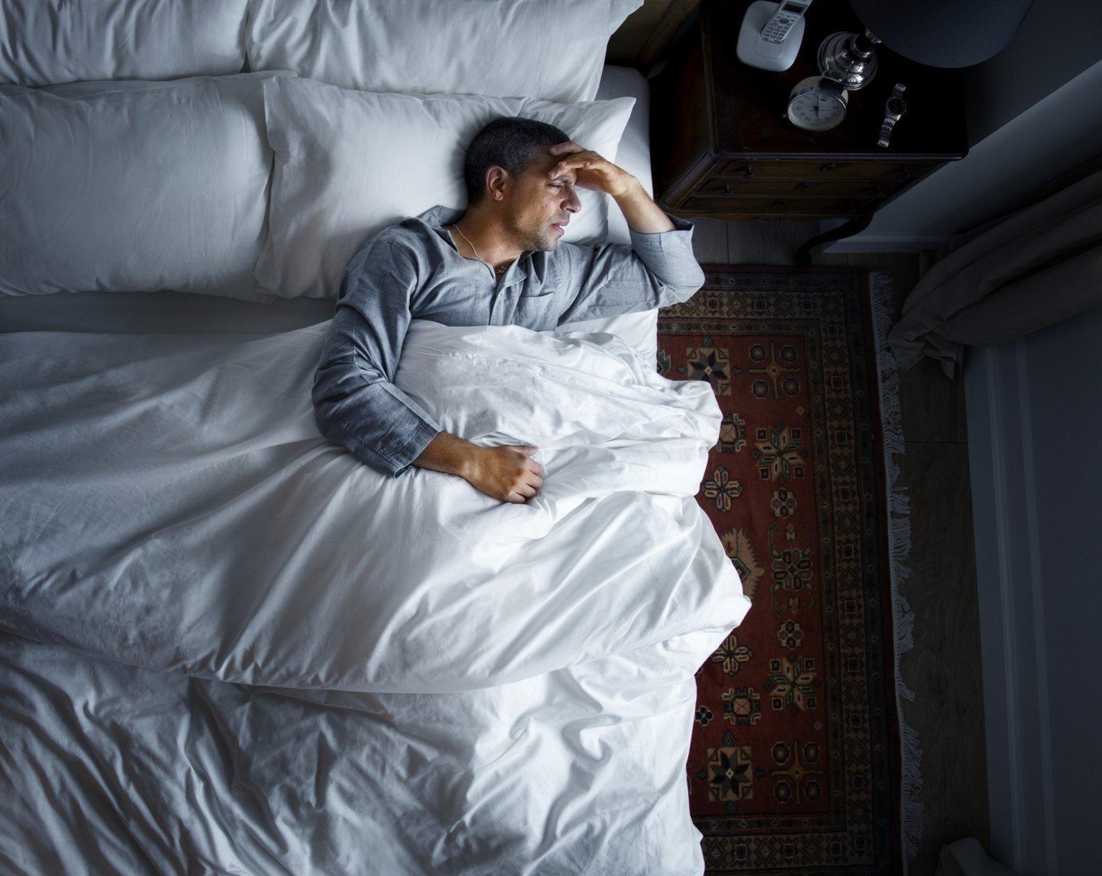 7 požymiai, kad kenčiate nuo miego sutrikimo