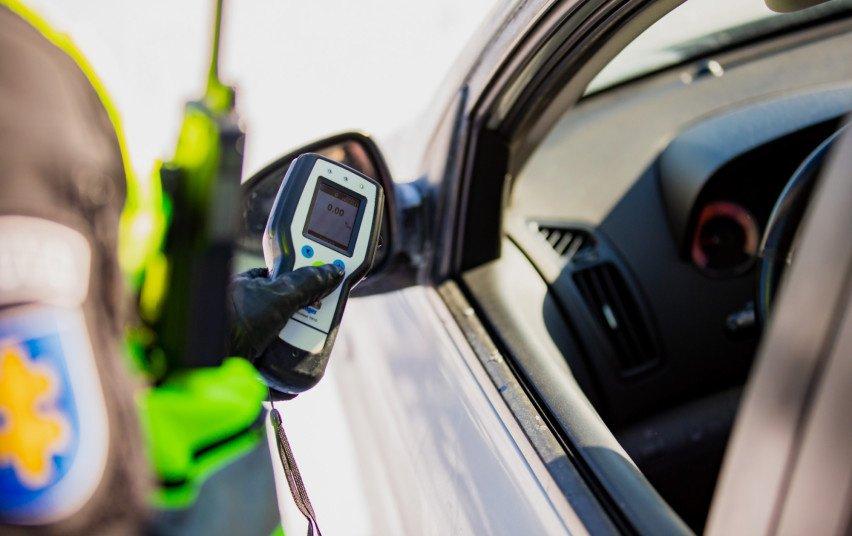 Per šventinį savaitgalį Klaipėdos Kelių policijos pareigūnai išaiškino 7 neblaivius vairuotojus