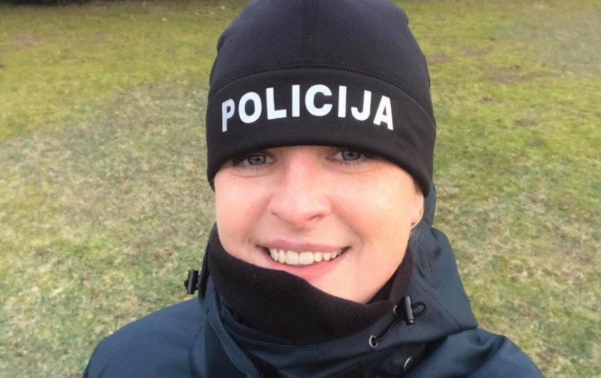 Policijos kursantė padėjo išgelbėti motociklininko gyvybę