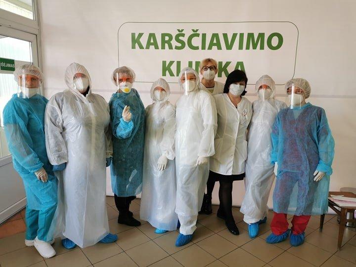 Kėdainių karščiavimo klinikai – jau metai