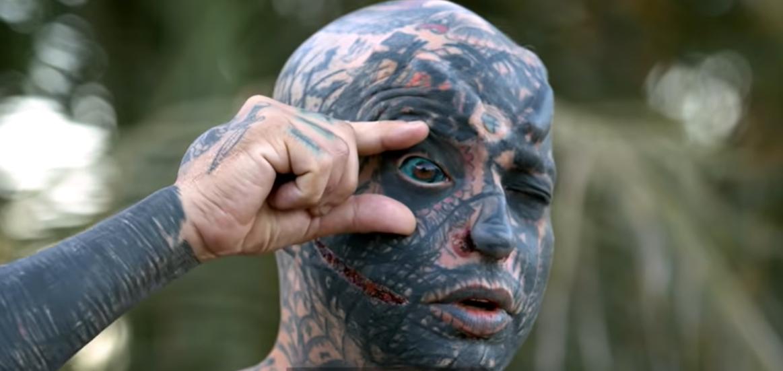 Žmogumi monstru pramintas vyras pasivertė į mitinę būtybę: pamačius jį užgniaužia kvapą