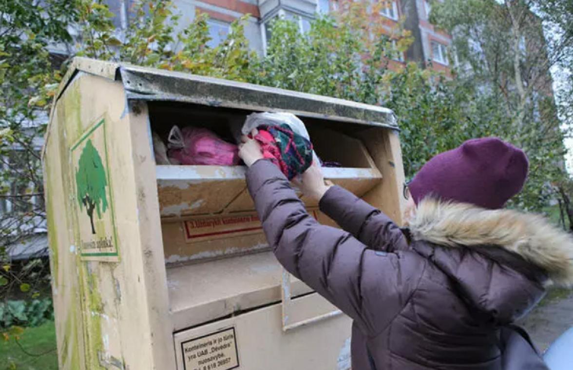Kada Klaipėdoje atsiras tekstilės atliekų konteineriai?