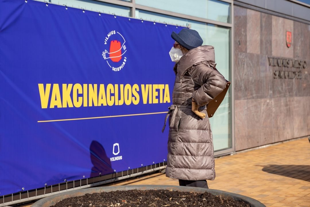 Vilnius kviečia skiepui registruotis prioritetines grupes