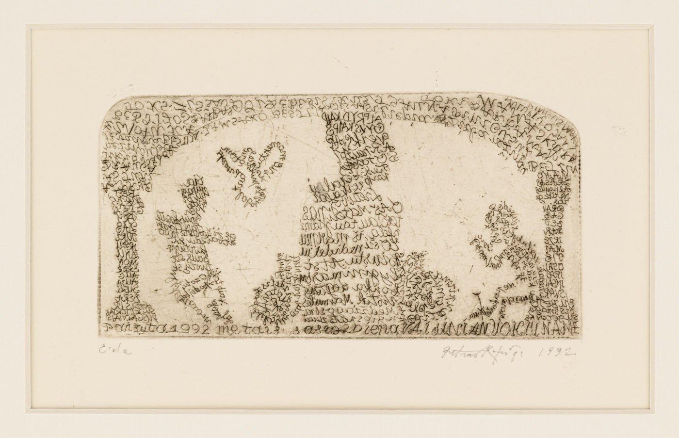 Palangoje atidaroma Nacionalinės premijos laureato P. Repšio grafikos darbų paroda