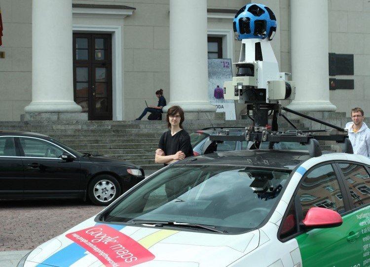 """Atnaujinti vaizdų į Lietuvos kelius grįžta """"Google Street View"""" automobiliai"""