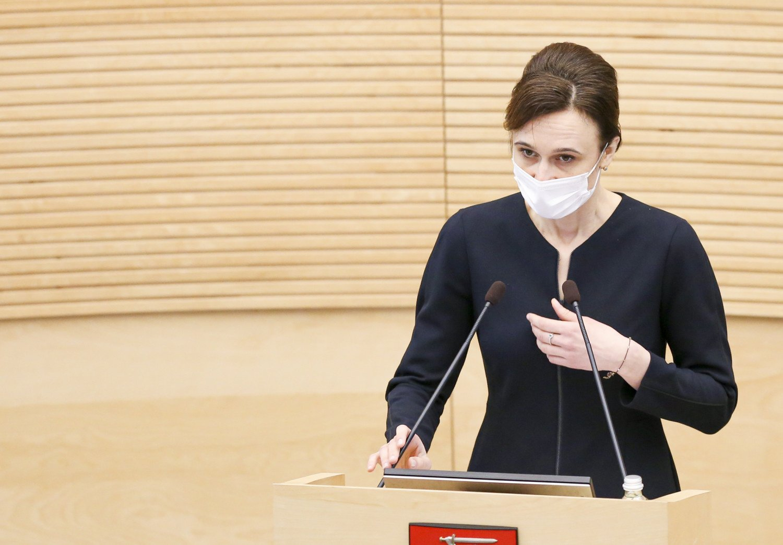 V. Čmilytė-Nielsen pateikė kandidatus į VRK, tačiau jų pavardžių kol kas neatskleidžia