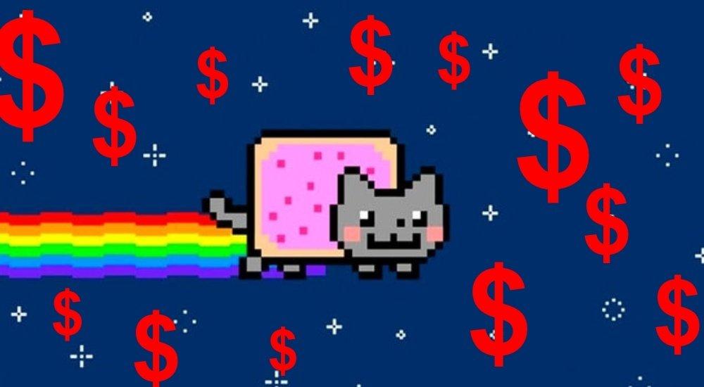 """Įdomūs dalykai internete: milijonai už katinuko """"GIF"""", kurį gali parsisiųsti bet kas"""