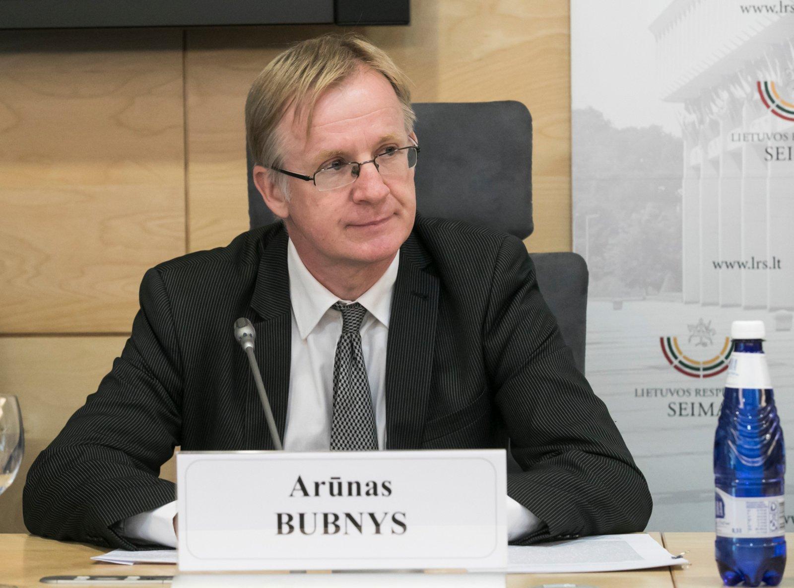 A. Bubnys prisistatė Seimui: mes nesiekėme perversmo prieš A. Jakubauską, tiesiog jį kritikavome