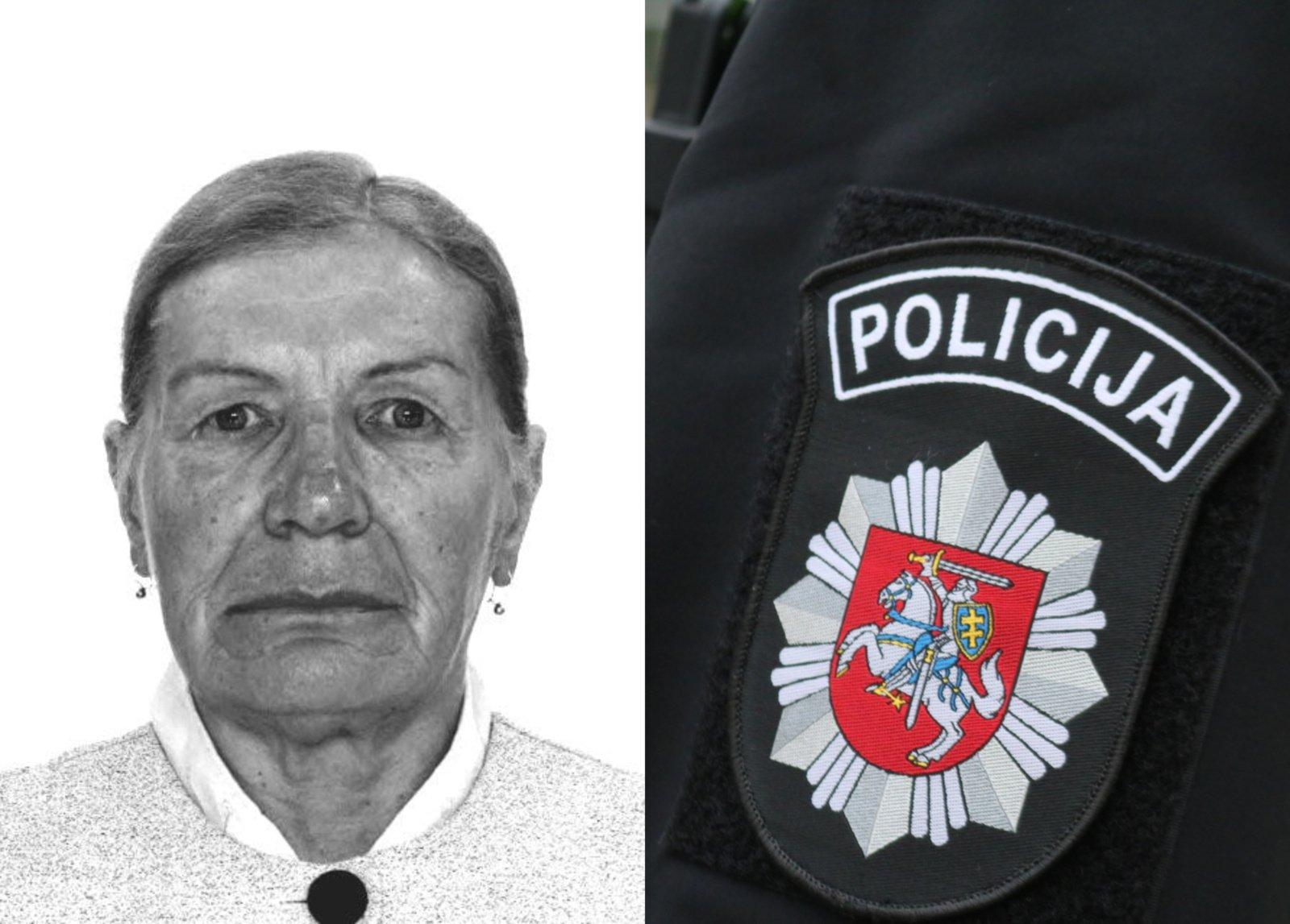 Švenčionių policija ieško be žinios dingusios moters