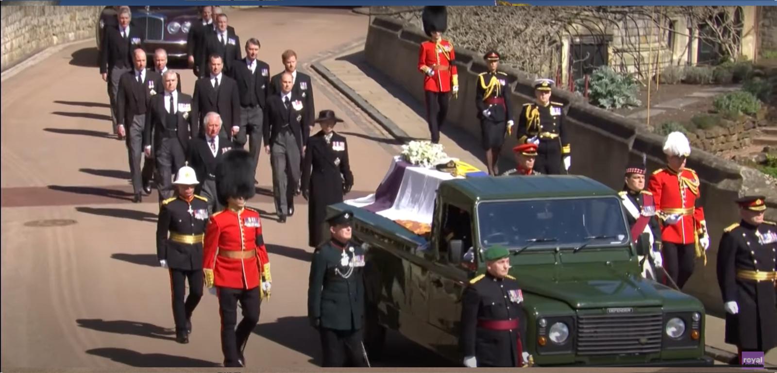 Britanijoje palaidotas princas Philipas