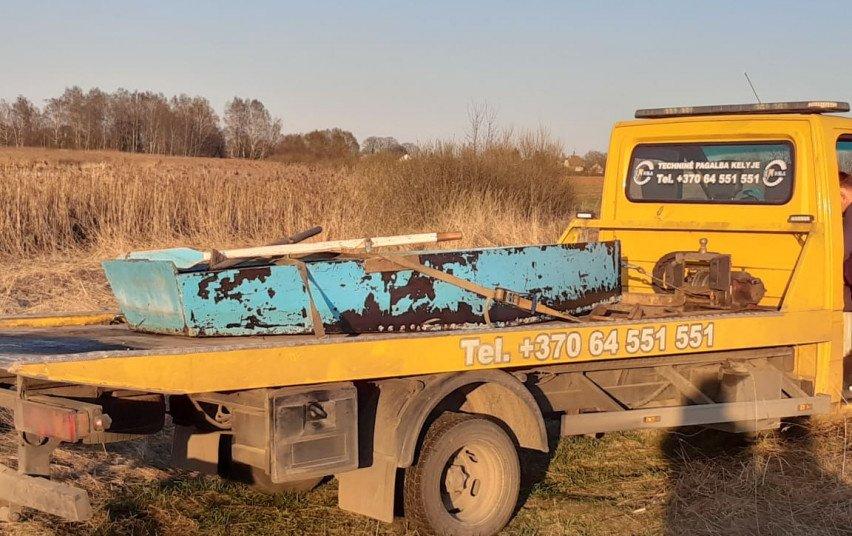Aplinkosaugininkai sulaikė Ukmergės rajone tinklais žvejojusį asmenį
