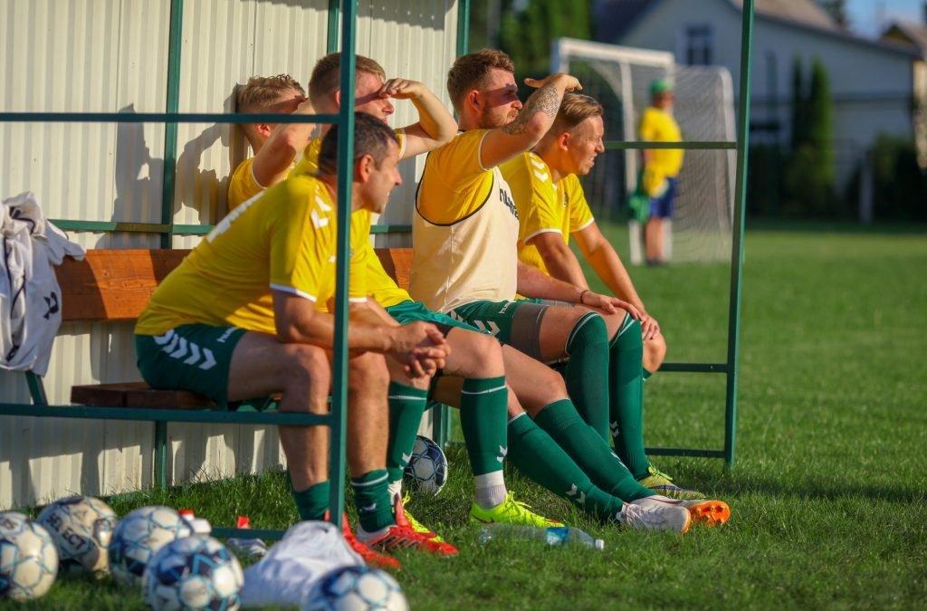 Anykščių futbolo ekipos startas – gegužės viduryje
