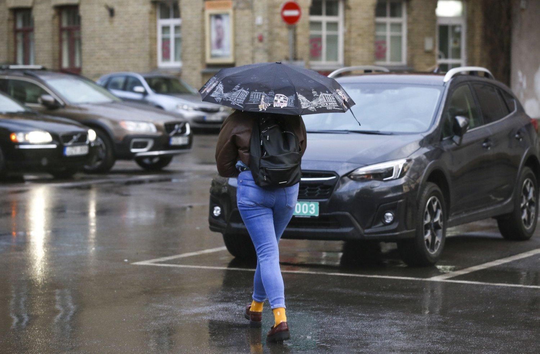 Orai: po žiemiškos savaitės pradžios bus šilta, bet šlapia