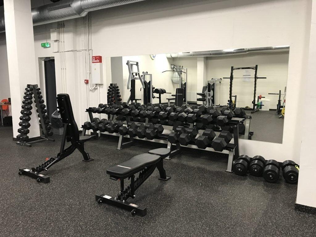 Varėnos sporto centre atidaroma treniruoklių salė