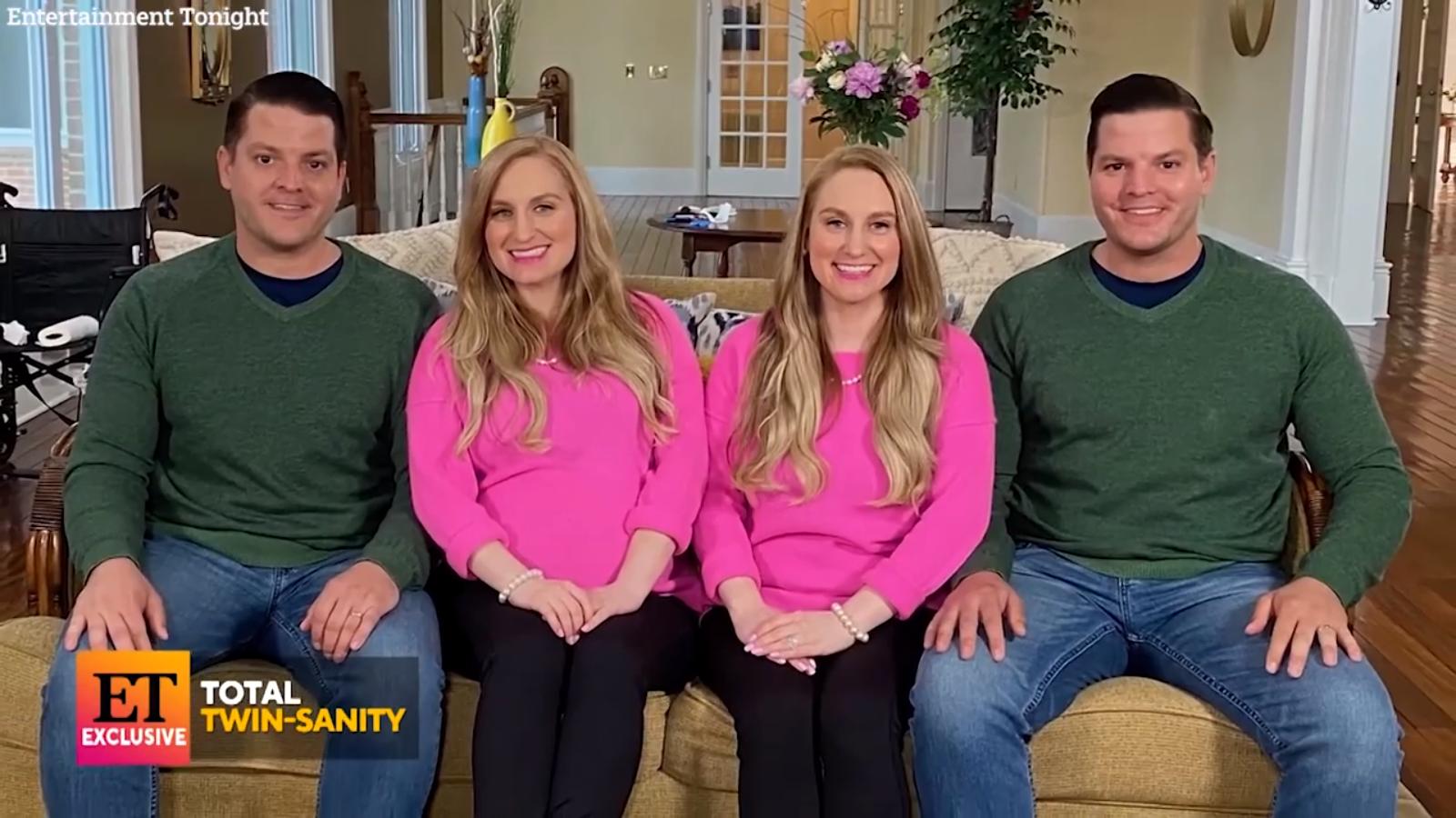 Sesės dvynės ištekėjo už dvynių brolių: poros gyvena kartu ir turi vienodo amžiaus kūdikius
