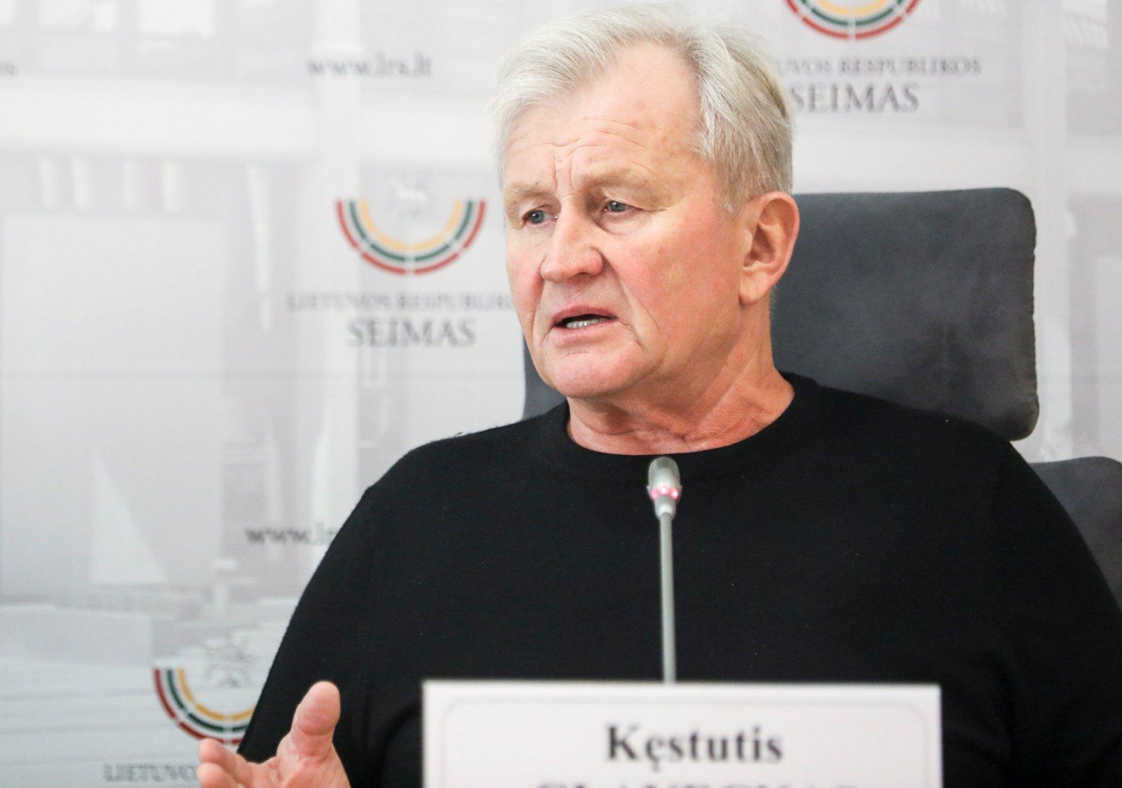 Seimo nario K. Glavecko būklė sunki, parlamentaras ligoninėje