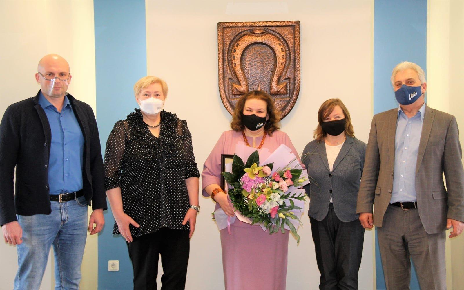Savivaldybėje darbą baigia Kultūros skyriaus vyriausioji specialistė Zita Mackevičienė