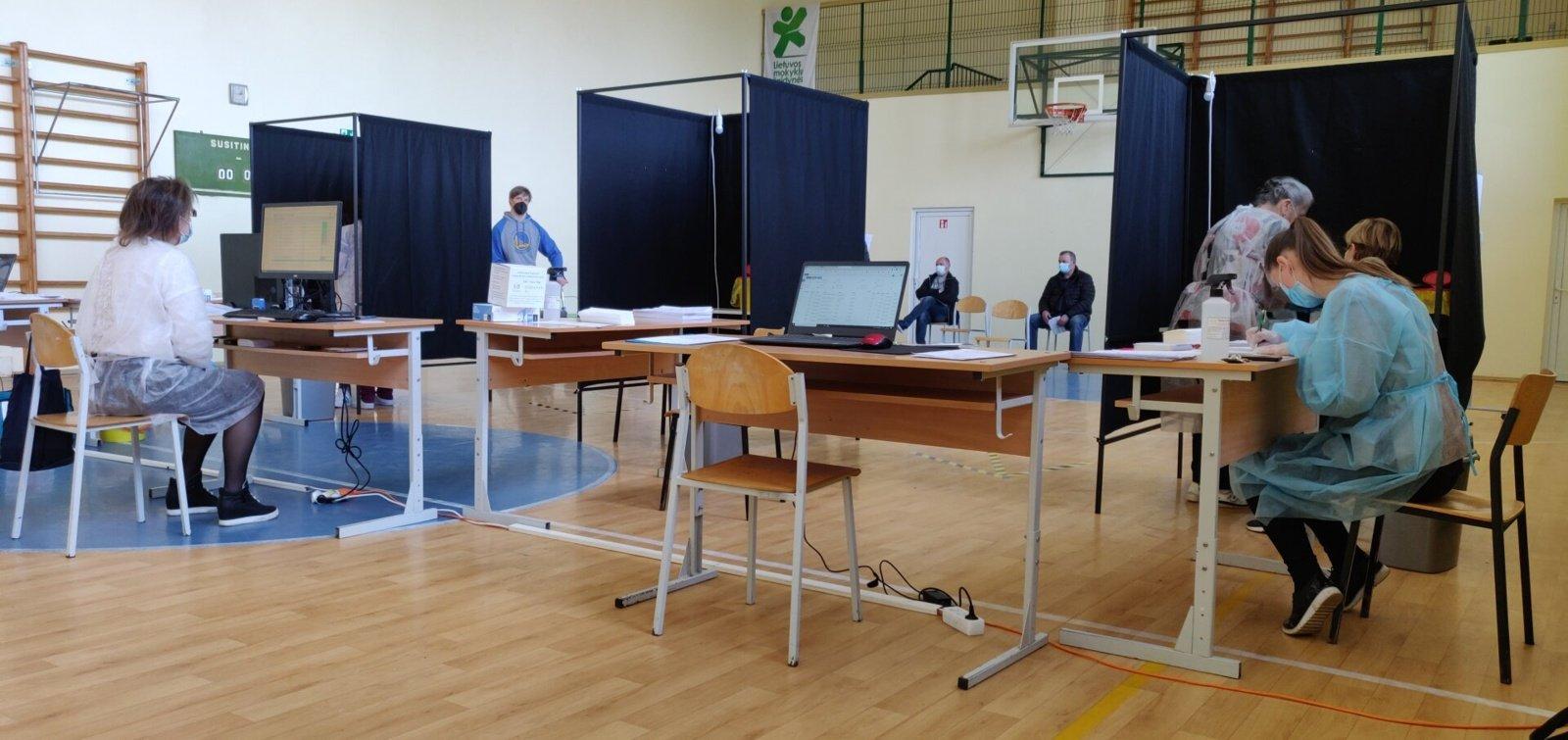 Kazlų Rūdoje atidarytas vakcinacijos centras