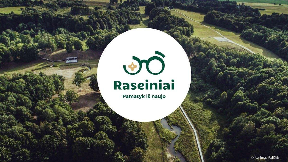 Raseinių rajonas pristato naują logotipą ir šūkį