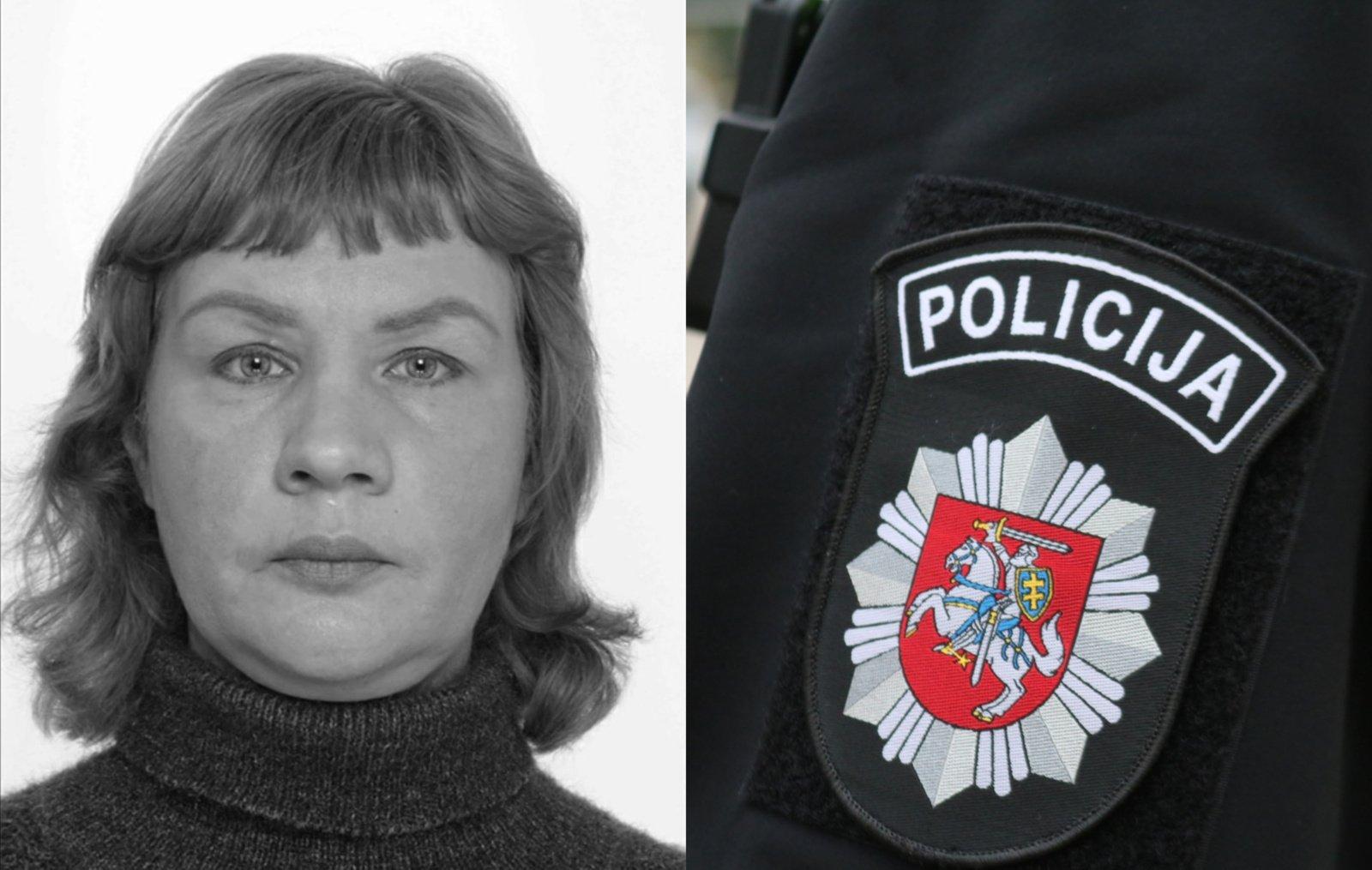 Šiaulių policija ieško be žinios dingusios moters