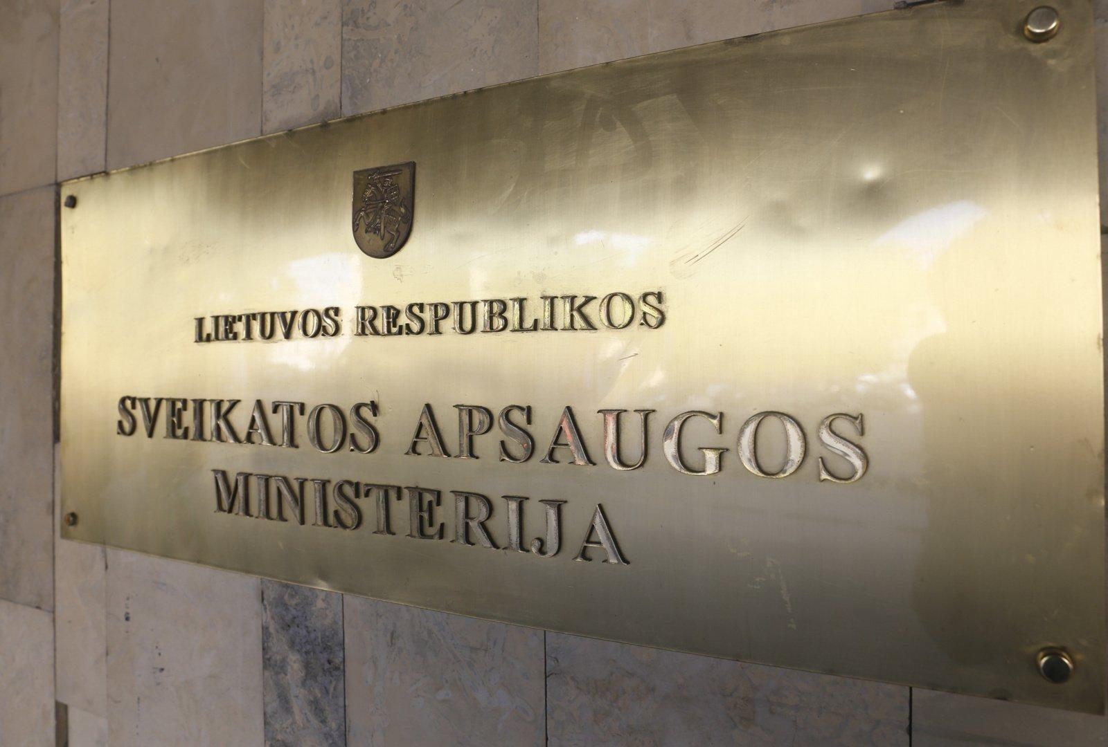 Sveikatos apsaugos ministerija imasi naujojo ULAC vadovo paieškų