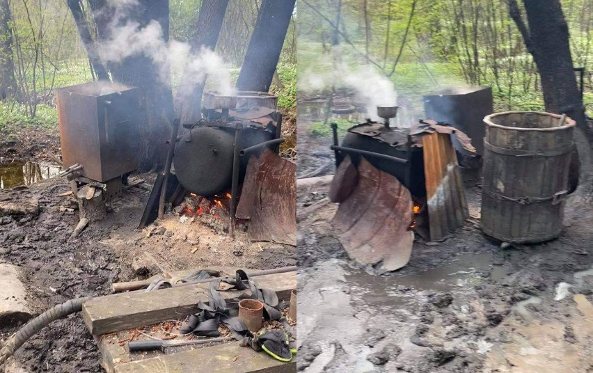 Klaipėdos pareigūnai savaitgalį aptiko ir likvidavo naminės degtinės bravorą
