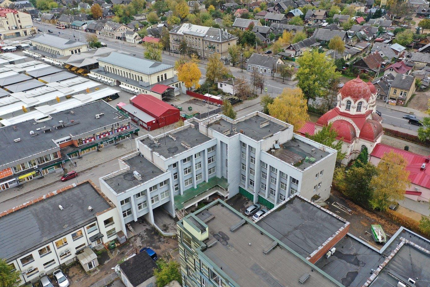 Už buvusį Vilniaus rajono policijos pastatą prašoma 1,55 mln. eurų