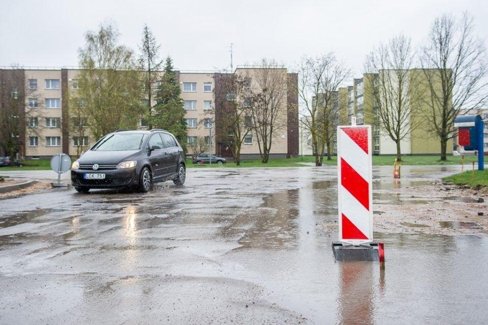 Panevėžio rajone skęsta gatvės: gyventojai neslepia pasipiktinimo