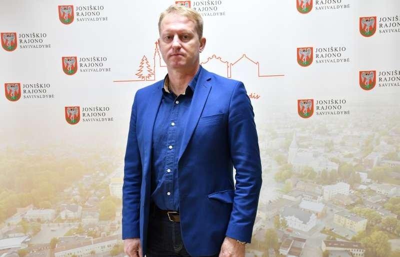 Pareigas pradėjo eiti Joniškio rajono savivaldybės administracijos direktorius Tomas Armonavičius