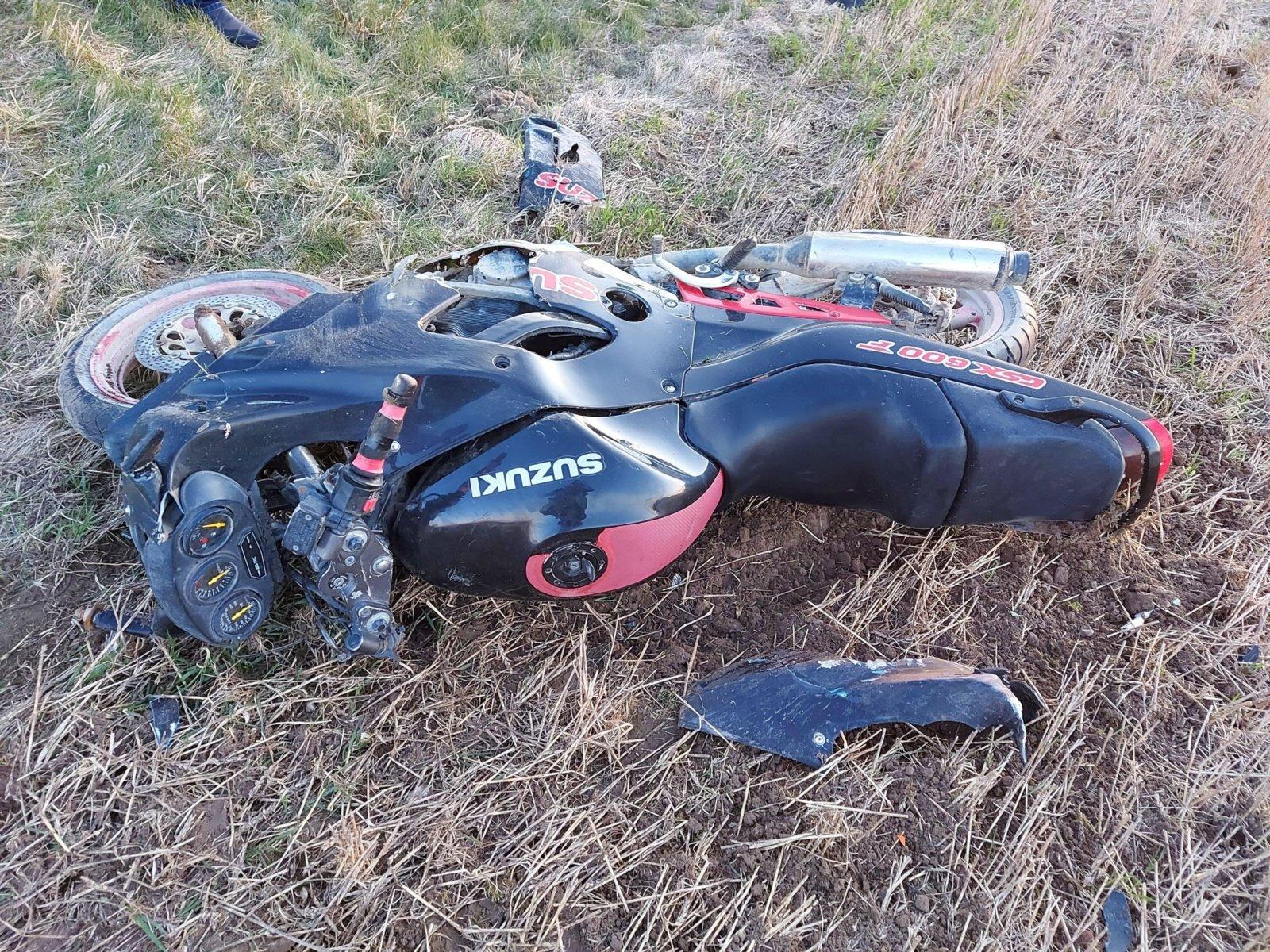Raseinių policija sulaikė girtą avariją sukėlusį ir pasprukusį motociklininką
