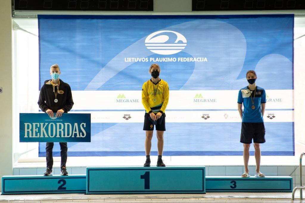 Geriausias Lietuvos jaunučių plaukimo pirmenybėse – šiaulietis