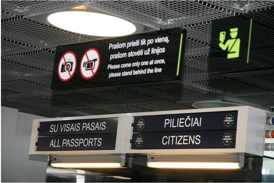 Oro uoste sulaikytas teisėsaugos ieškotas panevėžietis