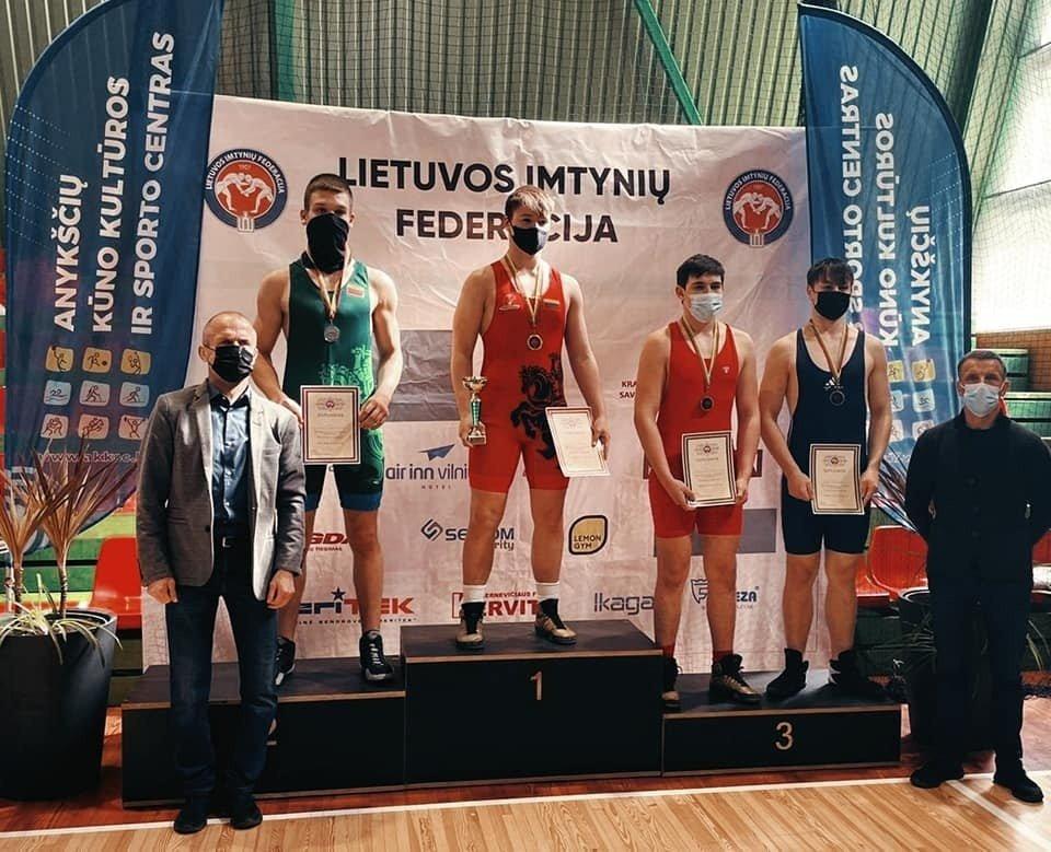 Imtynininkas iš Joniškio atstovaus Lietuvai Europos ir Pasaulio čempionatuose