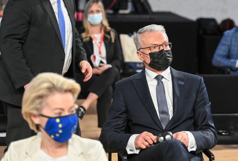 G. Nausėda: būtinas ES solidarus atsakas į agresyvią Rusijos laikyseną