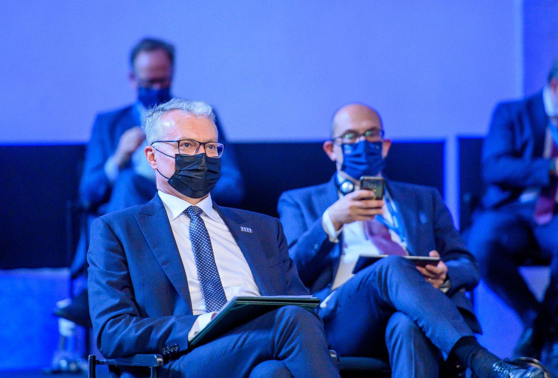 """G. Nausėda ES lyderiams perdavė """"Černobylio"""" kopijas, įspėdamas apie Astravo pavojų"""