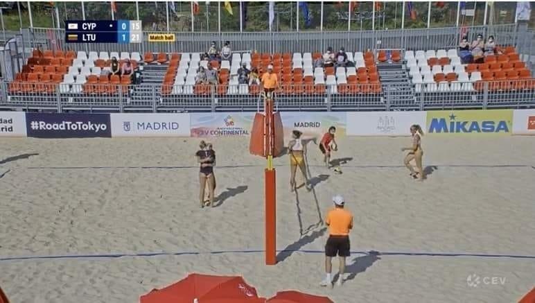 Lietuvos paplūdimio tinklininkės – finaliniame olimpinės atrankos turnyre