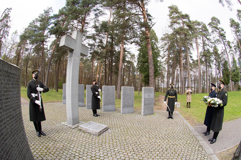 Vilniuje pagerbtos Antrojo pasaulinio karo aukos