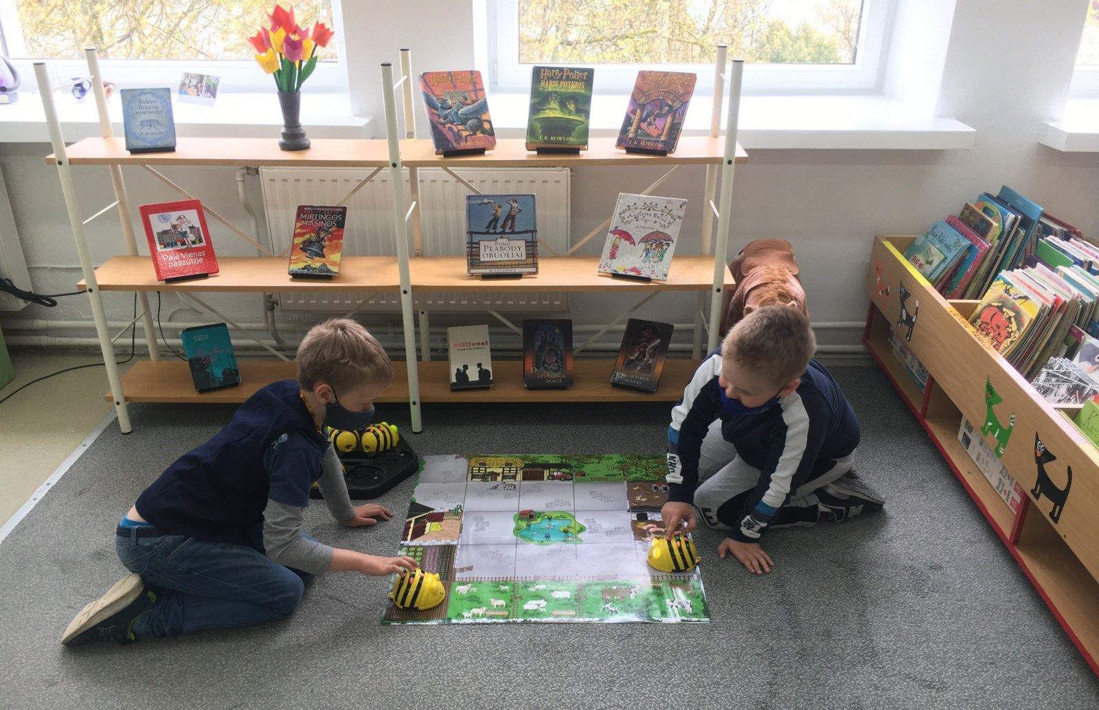 Trakų viešojoje bibliotekoje vyko jaunųjų programuotojų būrelis